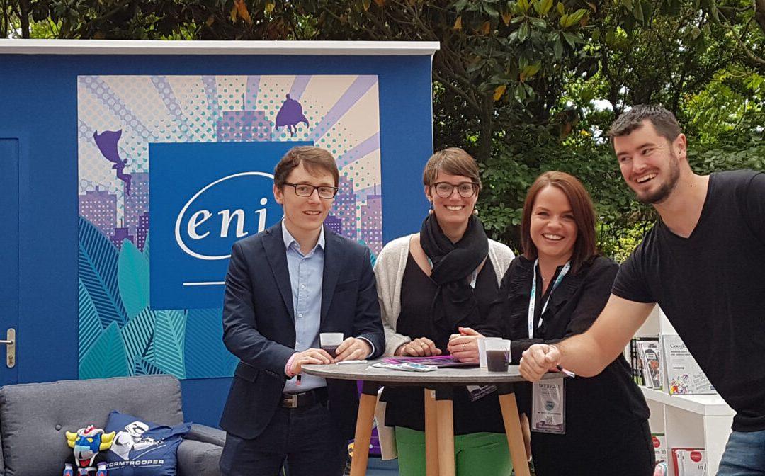 ENI partenaire du Web2Day 2019