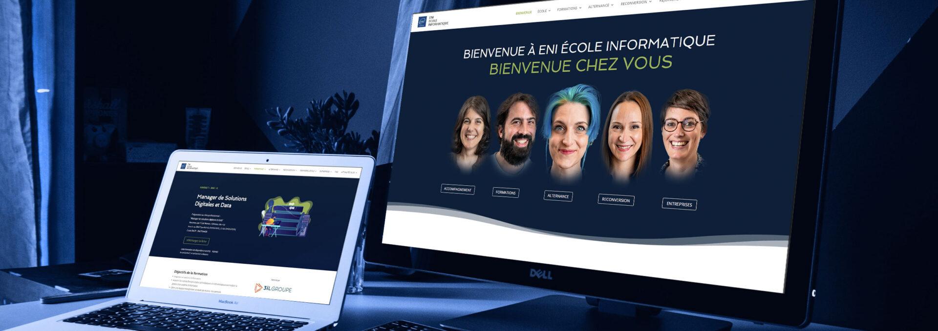 Nouveau site ENI ECOLE