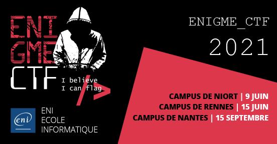 L'ENIgme CTF s'est de nouveau emparé des campus ENI!
